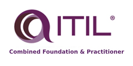 ITIL Combined Foundation And Practitioner 6 Days Virtual Live Training in San Jose tickets