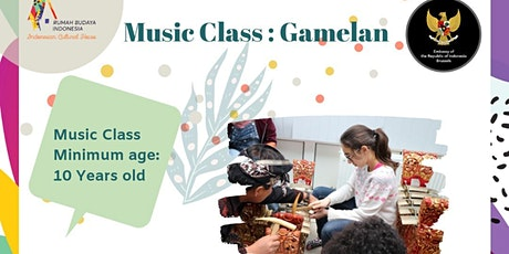 Indonesian Traditional Instrument Course/GAMELAN (Free) tickets