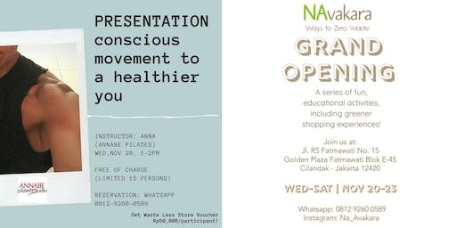 Navakara Grand Opening Programs  - Conscious Movement to a Healthier You