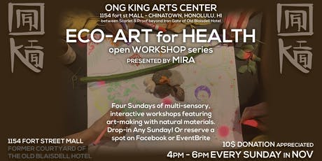 Eco-Art for Health, Open Workshop Series tickets