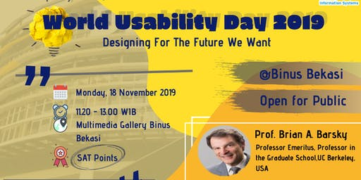World Usability Day 2019 (Bekasi)