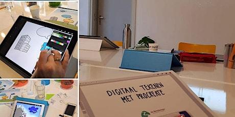 Digitaal tekenen met iPad en Procreate tickets