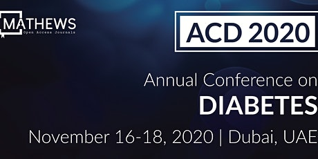 Annual Conference on Diabetes tickets