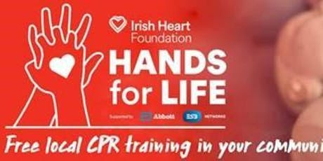 CPR 1 Hour Hands for life tickets