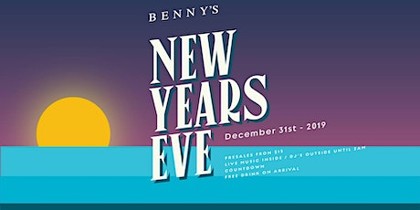 Benny's New Years Eve tickets