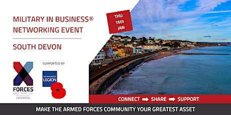 Military in Business Networking Event- South Devon tickets