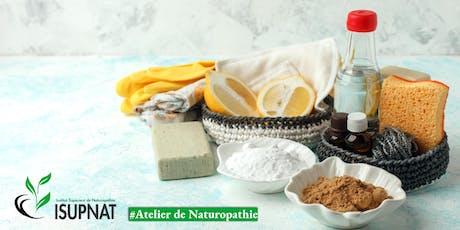 Savoir préparer ses produits ménagers sans s'intoxiquer  - Atelier de naturopathie billets