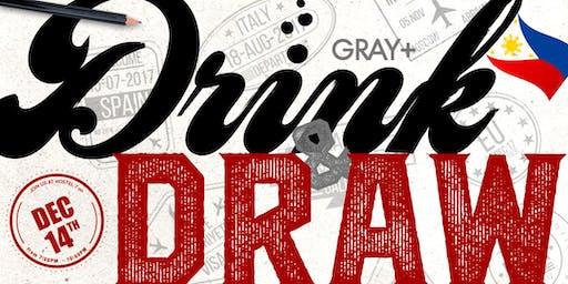 Drink & Draw: Hostel 7
