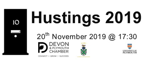 Devon Hustings 2019 tickets