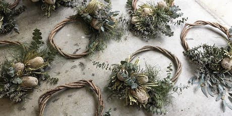 Wreath Workshop with Laurel & Lace  tickets