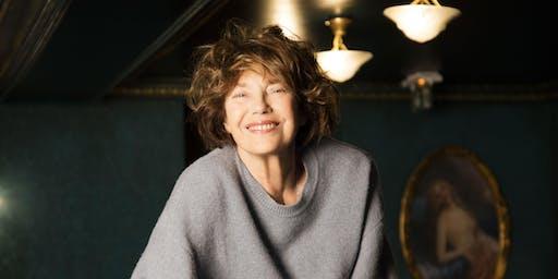 Jane Birkin au Bon Marché Rive Gauche