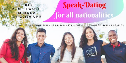 Speak-Dating for all nationalities