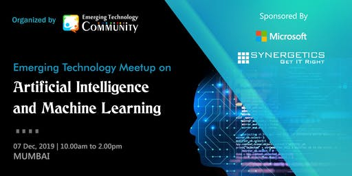 Emerging technology Meetup | Artificial Intelligence & Machine Learning