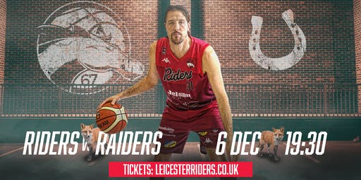Leicester Riders Vs Plymouth Raiders (Championship)