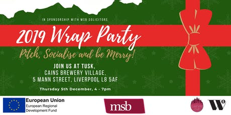 Business Club - 2019 Wrap Party: Pitch, Socialise and be Merry! tickets