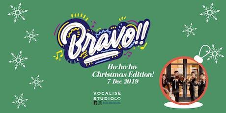 Bravo!! VSQ Christmas Workshop tickets
