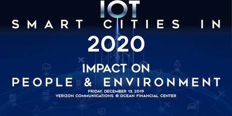 IoT & Smart Cities in 2020 – Impact on People & Environment tickets