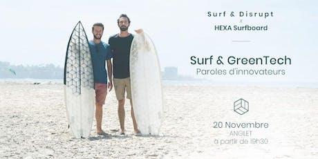 S&D #29 : Surf & GreenTech - Innovators Words x HEXA Surfboard billets