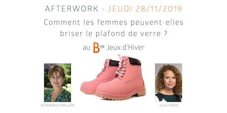 B19 Brussels - Comment les femmes peuvent-elles briser le plafond de verre? billets