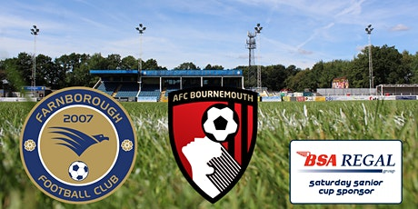 Farnborough v A.F.C. Bournemouth tickets