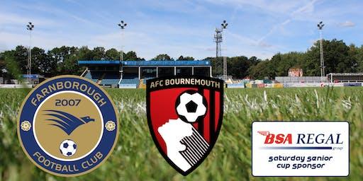 Farnborough v A.F.C. Bournemouth
