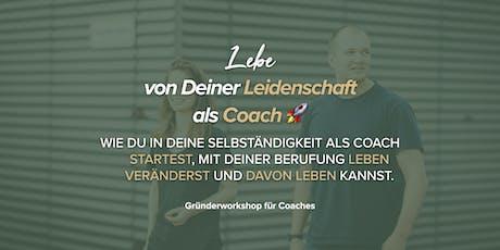 Gründerworkshop für Coaches Tickets