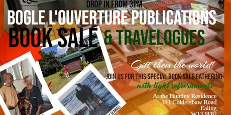 Bogle L'Ouverture Publications Book Sale and Travelogues tickets