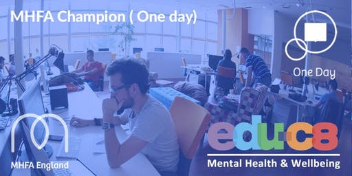 MHFA Champion Training in Hatfield - Adult MHFA One Day course