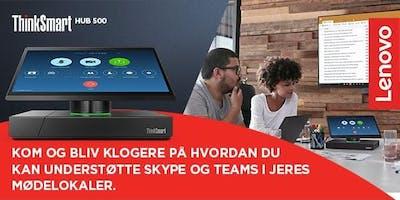 Understøt Skype & Teams