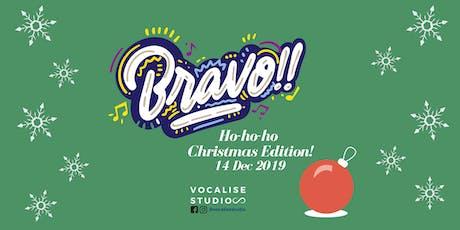 Bravo!! Christmas Workshop tickets