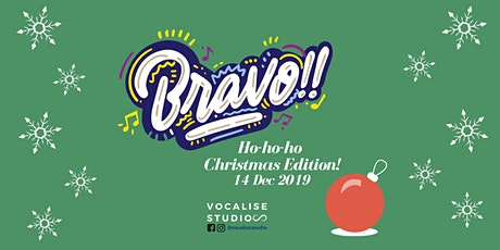 Bravo!! Christmas Workshop tickets