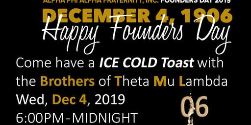 Alpha Phi Alpha Founder's Day Toast and Celebration