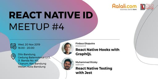 React Native ID Chapter Bandung