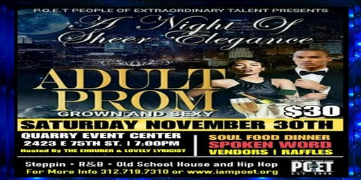 Adult Prom - A Night of Sheer Elegance