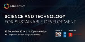 SDG Innovate: Science and Technology for Sustainable...
