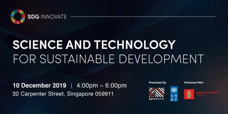 SDG Innovate: Science and Technology for Sustainable Development tickets