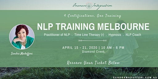 NLP Training Melbourne :  4 Certifications - One Training