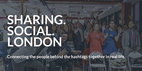 Sharing Social London | January 2020 tickets