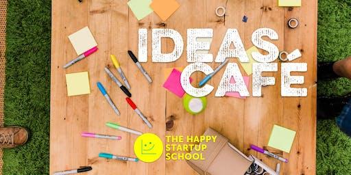 Happy Startup Ideas Café