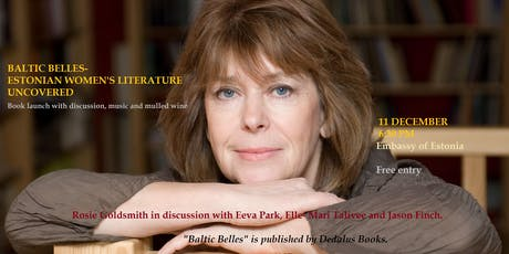 Baltic Belles – Estonian Women's Literature Uncovered tickets
