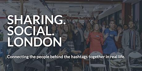 Sharing Social London | March 2020 tickets