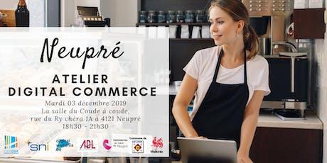 Neupré | Atelier Digital Commerce billets