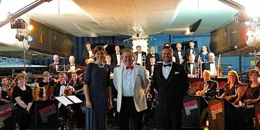 Bertie's Big Band under Concorde