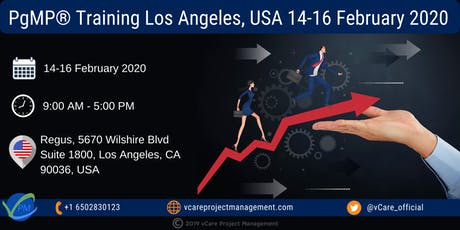 PgMP | Program Management Training | Los Angeles | February | 2020 tickets