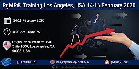 PgMP | Program Management Training | Los Angeles | February | 2020 tickets