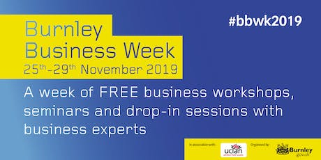 Burnley Business Week - How to Develop and Fund Your Manufacturing Growth tickets
