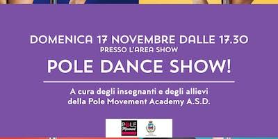 Pole Dance Show! @NUOVETERRE! VIVI IL TERRITORIO!