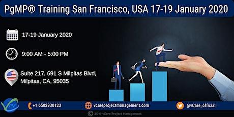PgMP | Program Management Training | San Francisco | January | 2020 tickets