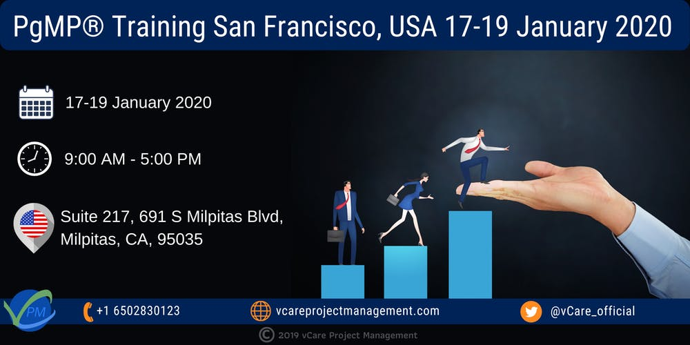 Events Usa January 2020.Pgmp Program Management Training San Francisco January 2020