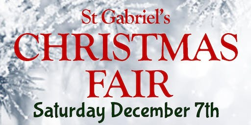 St. Gabriel's Christmas Fair
